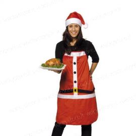 Grembiule e cappello da cucina natalizio