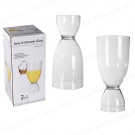 Bicchiere 2 in 1