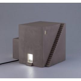 Archilamp - Una lampada a forma di piccola architettura moderna - Modello Cubo
