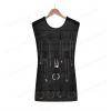 Abitino portagioie - Double face - Da appendere con una gruccia in armadio - Colore nero