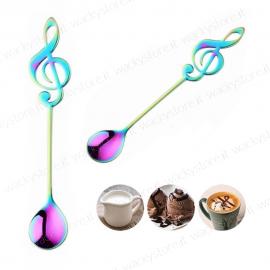 Cucchiaino a forma di chiave di violino o di Sol - Per musicisti e amanti della musica