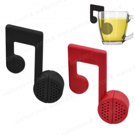 Nota musicale infusore - Disponibile in due colori