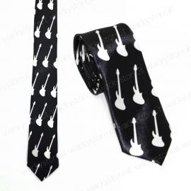Cravatta, cravattino - Modello chitarra - Per musicisti e amanti della musica