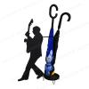 Portaombrelli chitarrista - Per musicisti e amanti della musica