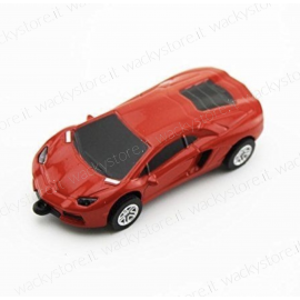 Pen drive - Auto Ferrari - In metallo - 8 GB