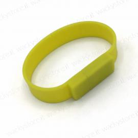 Pen drive - braccialetto - Colore Giallo- 8 GB