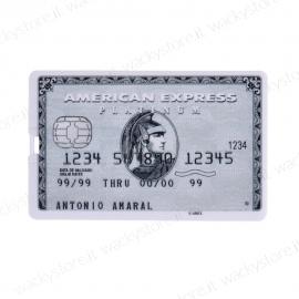 Pen drive - Carta di credito - American Express - 8 GB