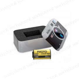 Pen drive - Rullino macchina fotografica - Con confezione per dedica - 8 GB