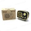 Cassa Bluetooth televisione retró - Con entrata USB e Micro SD