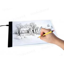 Led light Pad - Lavagna luminosa per disegnare e progettare - Formato 33,5X23,5 CM