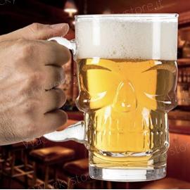 Bicchiere birra Teschio - Skull
