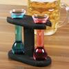 Mini yard glass - Bicchierini per liquore con espositore in legno