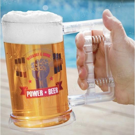 Boccale per birra - Prova di forza