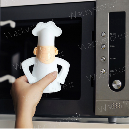 Angry Chef - Pulisci forno a microonde