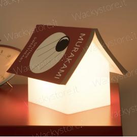 Lampada casetta segnalibro
