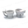 Set due tazzine a forma di WC - Per un caffè di successo
