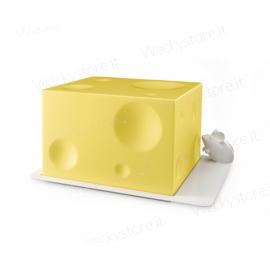 Formaggiera - Porta formaggi con topolino