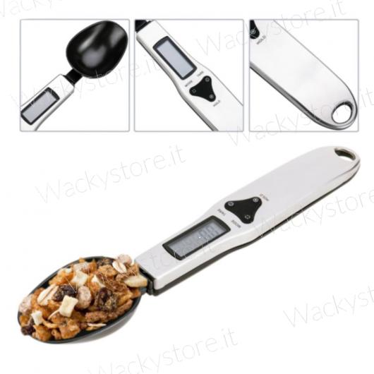 Bilancia di precisione formato cucchiaio - Con display digitale