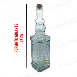 Bottiglione per liquore con erogatore - Formato gigante