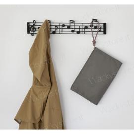 Appendino da parete Music - Un pentagramma come appendino