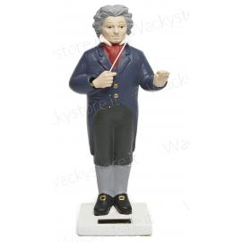 Beethoven scultura a con movimento solare - Muove la bacchetta