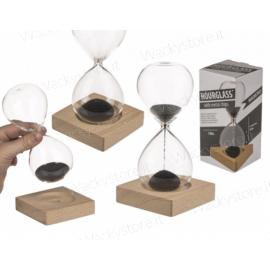 Clessidra con sabbia magnetica