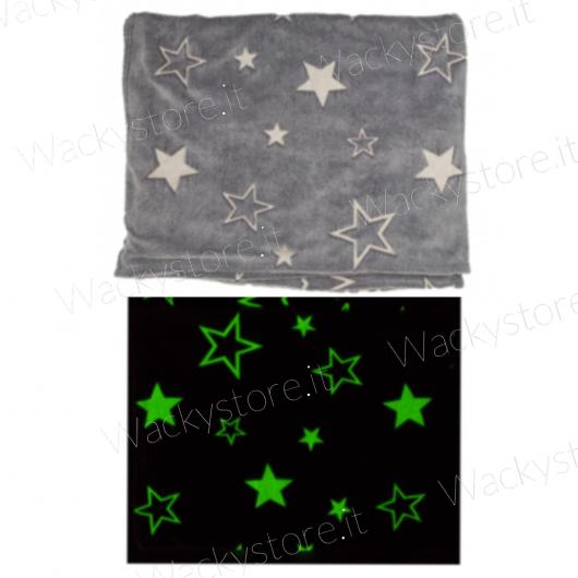Coperta stellata luminosa - Si illuminano le stelle al buio
