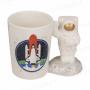 Tazza astronauta nello spazio