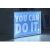 Lampada light box - Con tre grafiche incluse - Formato30X22 CM