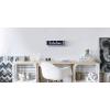 Lampada light box - Con tre grafiche incluse - Formato30X10 CM