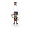 Bottiglia impossibile - Per dediche o esposizioni - Con supporto incluso