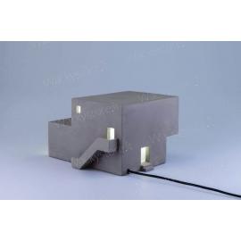 Archilamp - Una lampada a forma di piccola architettura moderna - Modello Orizzontale