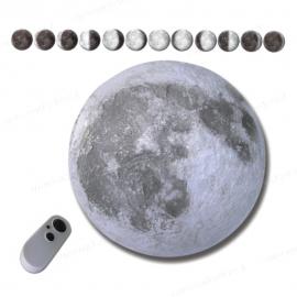 Lampada applique luna - Con modalità dodici fasi lunari