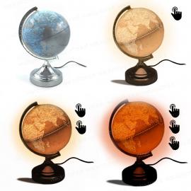 Lampada mappamondo - Con attivazione luminosa touch