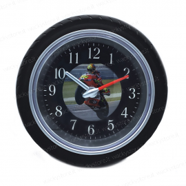 Orologio da parete - Ruota motocicletta
