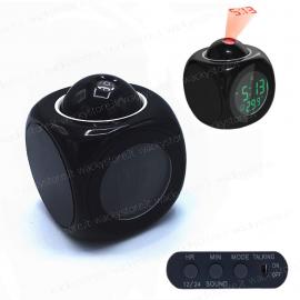 Orologio sveglia - Cubo con proiezione e touch vocale