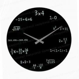 Orologio matematica - Da parete