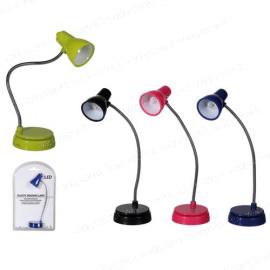 Mini lampada snodabile da lettura - Con clip per libro