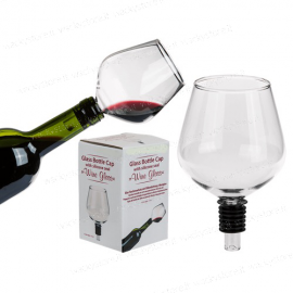 Bicchiere in vetro - Supporto per bottiglie
