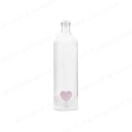 Bottiglia per acqua con cuore