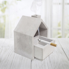 Posacenere a forma di casa - Ottimo anche come brucia incenso