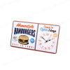 Orologio da parete Hamburger