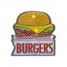 Targa decorativa - Burgers
