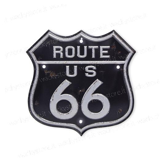 Targa decorativa - Route 66